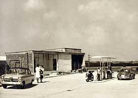 Das Autohaus im Jahre 1960
